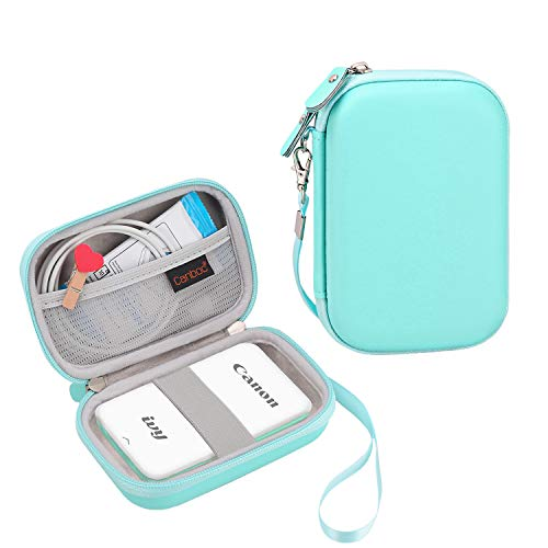 Canboc Carrying Case for Canon Ivy Mini CLIQ CLIQ+ Instant Camera Printer Wireless Bluetooth Mobile Portable Photo Printe, Mint Green