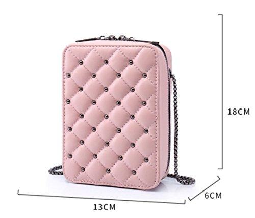 KYOKIM Sac Pochette Bag Dame Bandoulière Casual Mode Portefeuille Black à Messenger Vintage pqFpw4r
