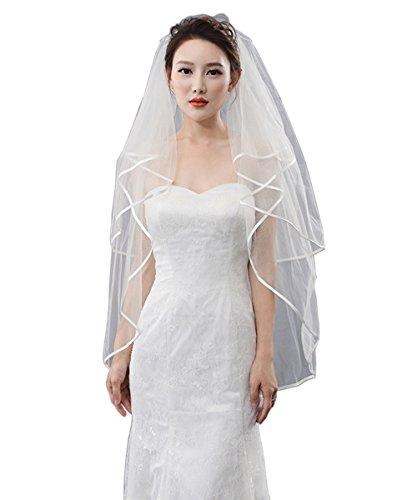 LynnBridal Ribbon Wedding Bridal Fingertip product image