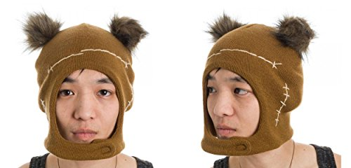 [Star Wars Ewok Mascot Hat, Brown, One Size] (Ewok Star Wars Costume)