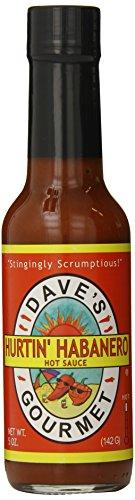 Insanity Sauce - Dave's Gourmet Sauce, Hurtin' Habanero, 5 Ounce
