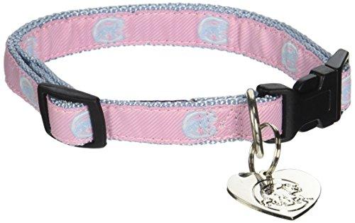 Sporty K9 MLB Chicago Cubs Pink Dog Collar, Medium