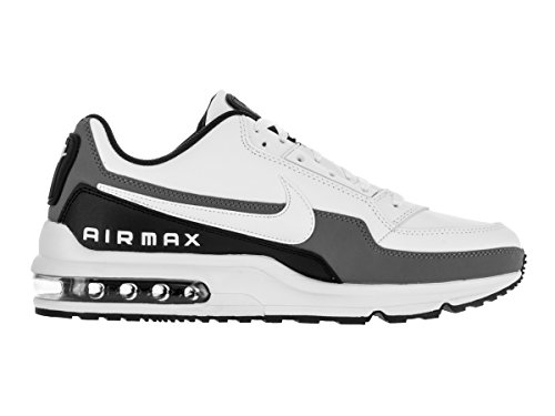 Nike Menns Air Max Ltd 3 Løpesko Hvit / Hvit-svart-cool Grey