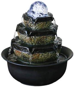 Sencilla Sala De Estar Fuente De Agua Fuente Feng Shui Mesa De ...