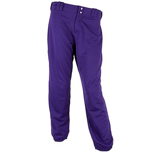 Alleson 女性用ファストピッチパンツ カラー: パープル B01G2LXVEM