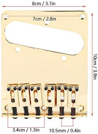 Zink Legierung Saddle String Guitar Bridge Gitarre Sättel für E Gitarre,