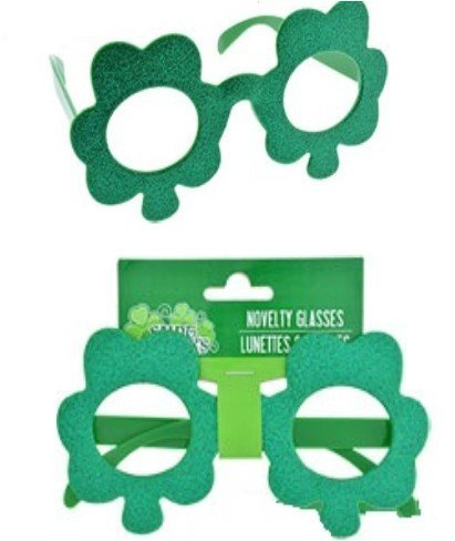 Fun Cute St. Patrick Glittery Plastic Sunglasses Glasses - Jcpenney Sunglasses