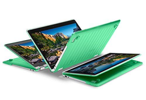 """iPearl mCover Hard Shell Case for NEW 13.3"""" Lenovo Yoga 720 (13) laptop (GREEN)"""