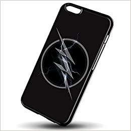 amazon com the flash zoom logo for iphone 6 6s black case