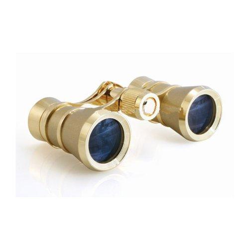 Milana Optics – Opera Glasses – Aria – Titanium Finish with Golden Rings B000H3VC2U