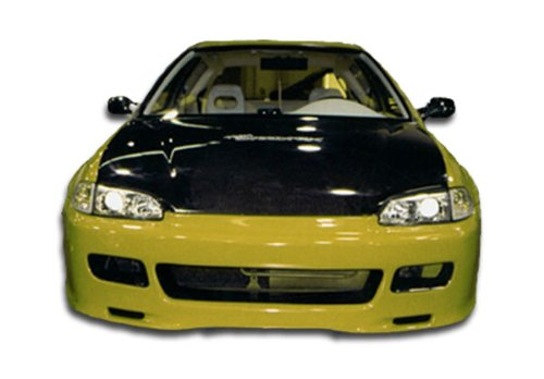 1992-1995 Honda Civic 2DR Duraflex Spoon Style Body Kit - 4 Piece - Includes Spoon Style Front Bumper Cover (101151) JDM Buddy Rear Bumper Cover (101141) JDM Buddy Side Skirts Rocker Panels (101105) ()