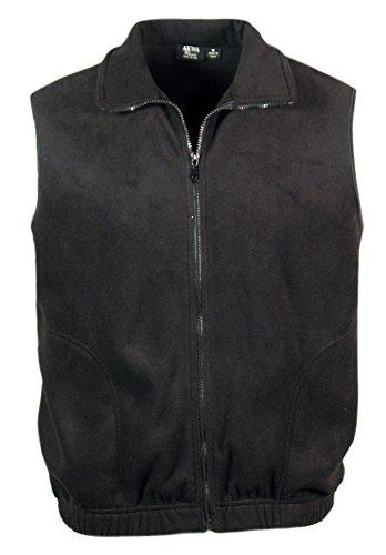 Zip Microfleece Vest - 3