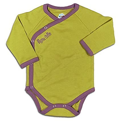 Mama Ocllo – Bebé orgánico del algodón pijama para/Body 100% Pima – 100