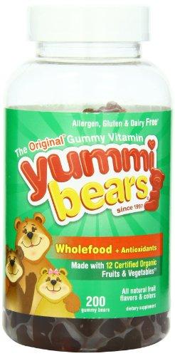 Yummi Bears Wholefood, 200-Count