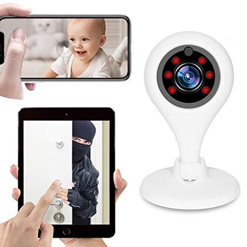 1080 P WiFi Cámara De Seguridad Sistema De Vigilancia IP InaláMbrico Control Remoto Alarma AutomáTica VisióN Nocturna...