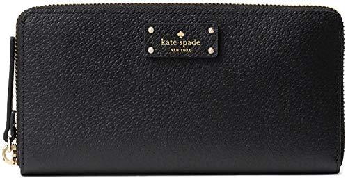 (Kate Spade Grove Street Wellesley Neda Zip Around Wallet, Blck...)