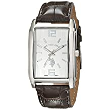 U.S. Polo Assn. Classic Men's USC50233 Analog Display Analog Quartz Brown Watch