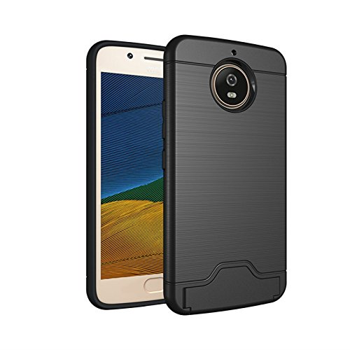designer fashion e2a4b ae2cb XYX Armor Case for Moto G5S Plus GS5+,[Heavy Duty] Hard PC and Soft TPU  Rugged Dual Layer Case with Card Holder and Kickstand for Motorola Moto G5S  ...