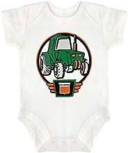 Slowly Mist Oliver Tractor Driver Baby Jumpsuit Infant Romper Cute Short-Sleeved Bodysuit