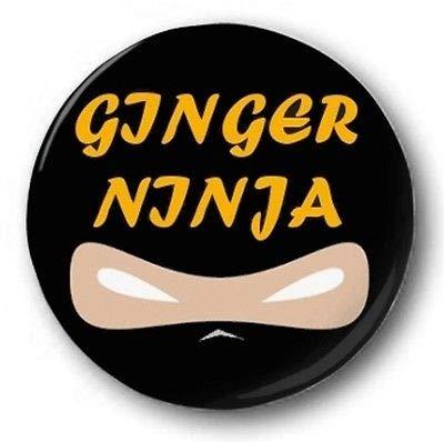 Amazon.com : Ginger Ninja 1 inch / 25mm Button Badge ...