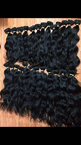 """100% Raw South East Asian Wavy Unprocessed Hair Bundle Deal 20' 22' & 24"""""""
