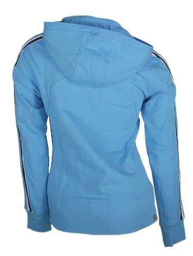 Asics Veste 583501 Peru 0880 Art Bleu Femmes Hooded vvq6dr