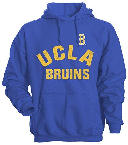 Camp David NCAA UCLA Bruins Men's Basic Fleece Hoodie, XX-Large, Royal (Drawstring Ncaa Ucla Bruins)
