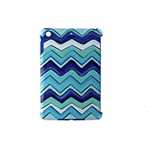 M-Edge Echo Case for Apple iPad Mini - Blue Chevron