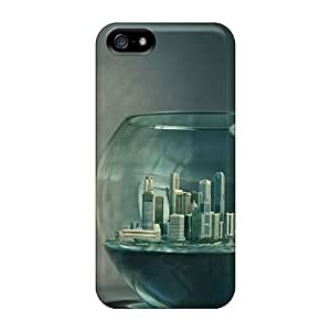 Iphone Cover Case - Aquarium Town Protective Case Compatibel With Iphone 5/5s