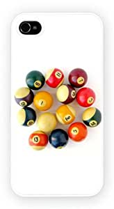 Billiard Balls Art Design, durable 3D printed case for the galaxy S6 by ruishername