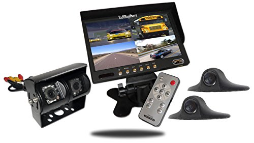 - Tadibrothers 9 Inch Ultimate RV Backup Camera System with Double CCD RV Camera and Side Cameras