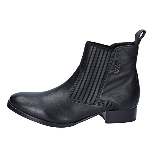 Boots Ankle Leather Black EU Braccialini 39 Womens 7Z5q7wP