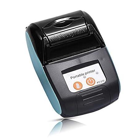 YHML 58 Mm Portátil Mini Bluetooth Recibo del Billete De La ...