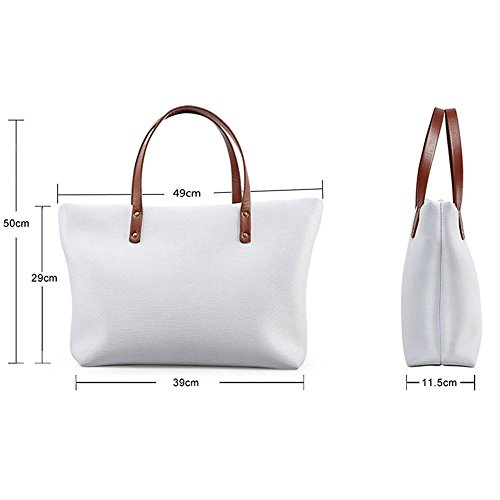 W8ccc1765al Shopping Bags Top Satchel Shoulder Women Handle FancyPrint Handbags 8q74RwSdq
