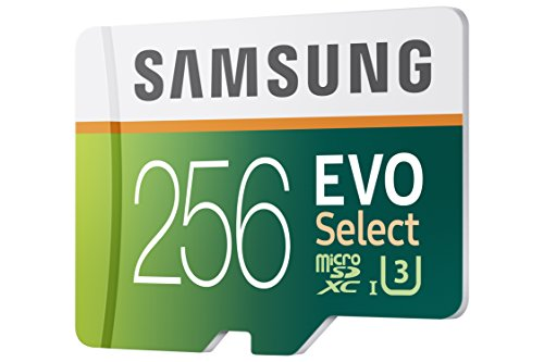 Samsung 256GB 95MB/s MicroSDXC EVO Select Memory Card with Adapter (MB-ME256DA/AM) by Samsung (Image #2)