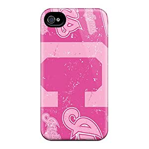 Iphone 4/4s Pzg4294kFHJ Unique Design HD Cleveland Indians Series Shock Absorbent Hard Phone Case -ErleneRobinson