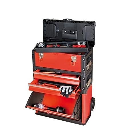 Ratio 6688H - Caja Taller Movil Metálico Ratio: Amazon.es: Bricolaje y herramientas