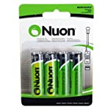 nuon batteries - Nuon - (4 Pack) RCR10003 3.2V Nuon AA Rechargeable