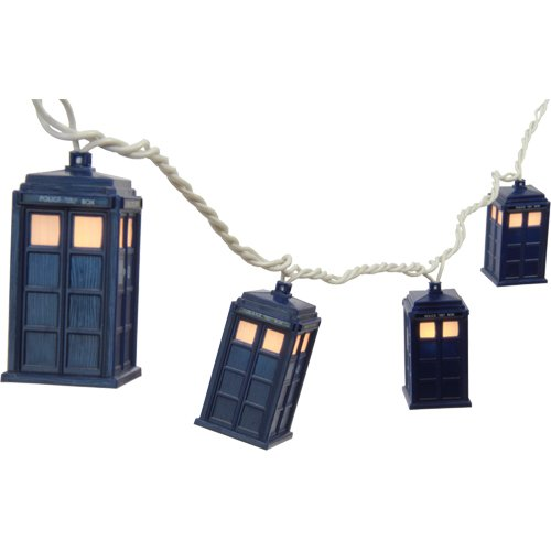 Rabbit Tanaka Doctor Who Tardis String Lights
