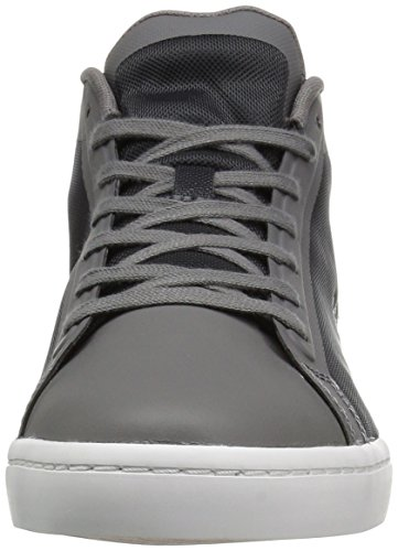 Lacoste Women's Straightset Chukka 316 2 Spw Fashion Sneaker, Grey, 6 M US