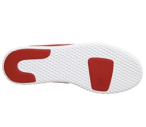Hu size adidas 2 Pw 3 red 40 Hu Tennis Holi white Shoes white 4gRwE