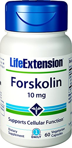 Life Extension Forskolin 10 Mg 60 Vegetarian Capsules Cyclic Amp