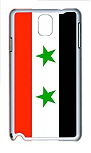 Samsung Galaxy Note 3 N9000 Cases & Covers - Syria Flag Custom PC Soft Case Cover Protector for Samsung Galaxy Note 3 N9000 - White