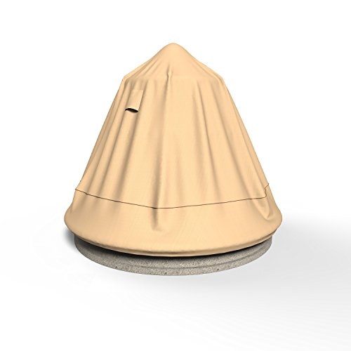 Rust-Oleum NeverWet Fountain Cover, 30'' L x 30'' W x 48'' H (Tan) by EmpireCovers