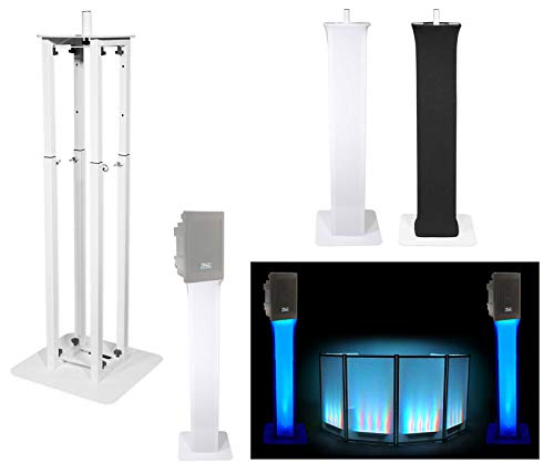 (1) Rockville White Totem Stand For Anchor Audio Explorer EXP-7500 8