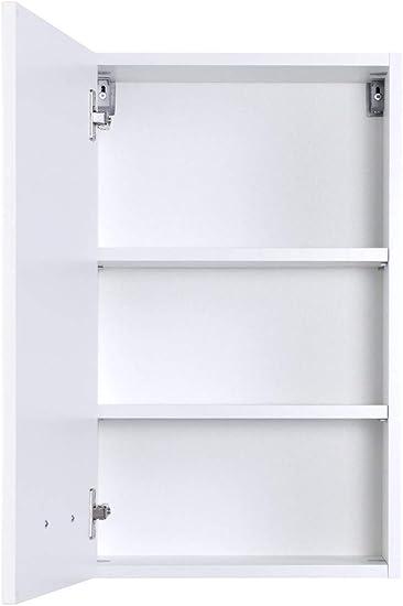 expendio Fiona 34 - Armario de baño con Espejo y 5 Piezas para Lavabo, Color Blanco Brillante: Amazon.es: Juguetes y juegos
