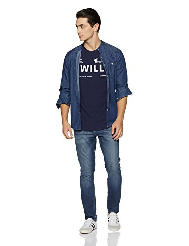 I Navy Midnight Manches Under Homme Will T Armour Courtes shirt On5FApqwxF