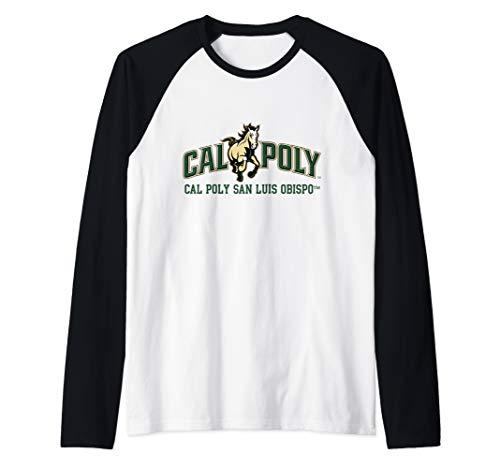 Cal Poly SLO Mustangs NCAA PPCPO07 Raglan Baseball Tee