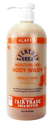 Alaffia - Everyday Shea - Moisturizing Body Wash, 32 Ounces