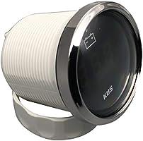 Black KY23000 KUS DN52mm Black Digital Voltmeter Voltage Gauge 9-32V PN